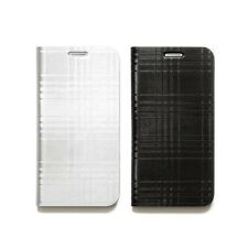 Zenus Avoc Mono Check Leather Protect Diary Cover Case For Samsung Galaxy S6