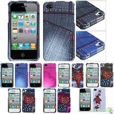 Crystal Snap-On Hard Protector Case Cover For APPLE iPhone 4/4S