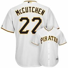Pittsburgh Pirates Andrew McCutchen White Cool Base Youth Jersey Size  S M L XL