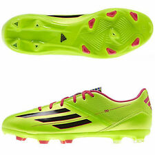 MENS BOYS YOUTHS ADIDAS F10 TRX FG FIRM GROUND FOOTBALL BOOTS TRAINERS GREEN NEW