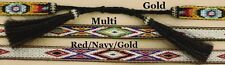FAUX Hitched-Horse Hair & HORSEHAIR Tails ~HATBAND~ Tapestry Western Cowboy