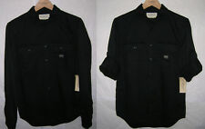new Ralph Lauren Denim & Supply twill military shirt army black, S, MSRP $69.50