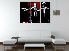 Pulp Fiction ~ Hand Painted Canvas Acrylic Pop Art Oil Painting *Assorted*