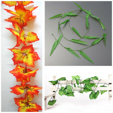 7.87-9.84ft Artificial Ivy Vine Leaf Garland Plants Fake Foliage Flowers Deco