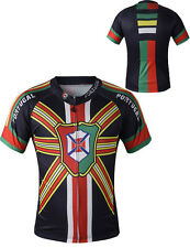 Mens Sport Clothing Portugal Cycling Jerseys Bicycle Wear Outdoor Top Tee