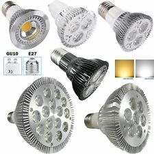PAR20 PAR30 PAR38 E27 GU10 LED Light 9W 14W 30W Spot Lamp Warm Cool White Bulb