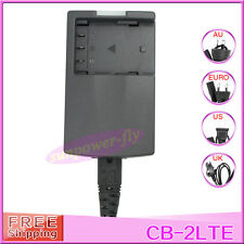 CB-2LTE CB-2LT CB-2LWE 2LW Battery Charger For Canon S80 S6 NB-2L NB-2L14 BP-2L5