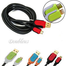 5FT High Speed Micro USB Charger Charging Cable Cord Sync Data For Mobile Phone