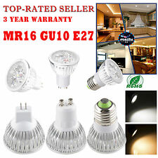 Super LED 9W 12W MR16 E27 GU10 Dimmable Cool Warm White CREE LED Bulb Lamp Light