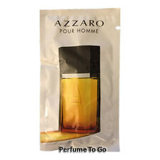 AZZARO pour HOMME for MEN * NEW Fragrance EDT Spray Travel Vial Sample Sealed