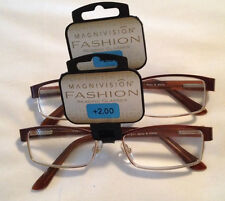 (2 Pairs) MOLLY Foster Grant Magnivision Reading Glasses NWT (Pair & a Spare)