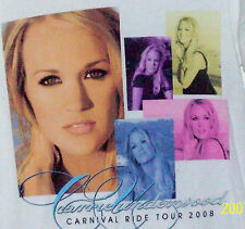 2008 Carrie Underwood Carnival Ride Concert T Shirt Size S