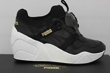 Women's Puma Trinomic Disc Wedge Luxe Sophia Chang Black 35782501 Size 5.5-10