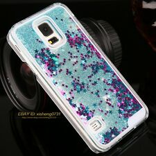 Luxury Glitter Star Liquid Back Phone Case Cover for Samsung galaxy Note2/3/4/S6