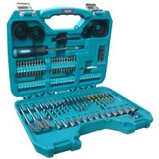 Makita 101 piece Drill Bit Screw Driver Set Kit in Carry Case for 8391 Drill