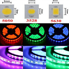 5M 5050 3528  RGB 300 SMD Flexible LED Strip Light 44key Remote 12V Power Supply