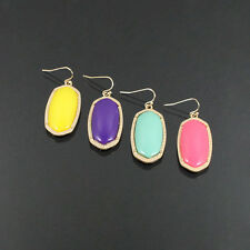 STONE EMBEDDED FASHION DANGLE EARRINGS
