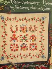 Ribbon Embroidery Stitchery Book Your Choice