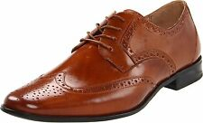 Stacy Adams Nolan Dress Shoe Lace Up Oxford Classy Wingtip Dotted Vent Size 13