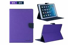Apple iPad Air 2 Leather Magnetic Flip Folio Cover Case w/ Stand & Sleep/Wake