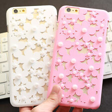 Hollow cute Pearl Daisy Radiating hard case cover for apple iphone6 plus 4.7""