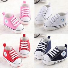 Baby shoes lovely soft sneakers boys girls infant toddler 3 sizes 0-18 months