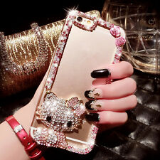 X12 Cute Luxury Bling Crystal Diamond Hard Case Cover for iPhone/ Samsung Galaxy