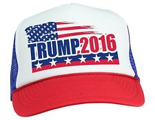 Donald Trump for President 2016 Campaign Trucker Hat Cap Mesh Button Back NEW