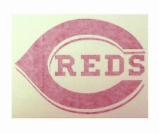 "Cincinnati Reds High Quality Vinyl Decal 7"" x 5"" (Multiple Colors)"