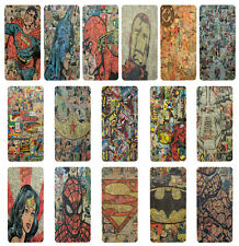 DC Marvel Comic Book Flip Case Cover for Apple iPhone 4 4s 5 5s 6 Plus - 11