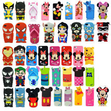X7 3D Cartoon Superhero Soft Silicone Rubber Case Cover For Apple/Samsung Galaxy