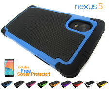 Defender Heavy Duty ShockProof Protective Tradesman Case Cover LG Google Nexus 5