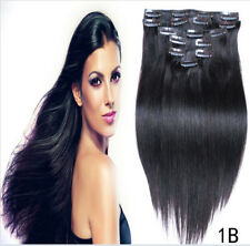 "15""18"" 20"" 22""24""  lot Clip In 100% Real Remy Human Hair Extensions 7 P 70G/ 80G"