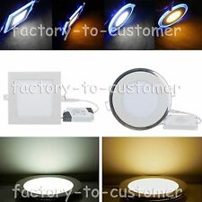 6W 9W 12W 15W 18W 20W Bright CREE LED Recessed Ceiling Panel Downlight Bulb Lamp