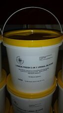 GREAT VALUE 3kg (appr 150 cubes)TUB OF CHANNEL CUBES 3 IN 1 URINAL BLOCKS TOILET