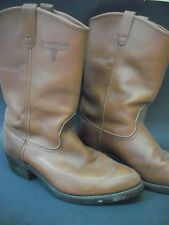 Mason Western Men's Brown Leather Boots - $19.99