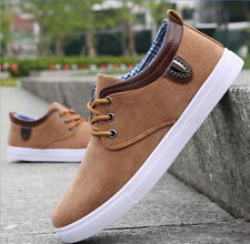 Fashion England Slip On shoes Suede Single shoes sneakers Men's casual shoes