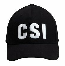 9883 Rothco CSI Supreme Low Profile Insignia Cap - Black