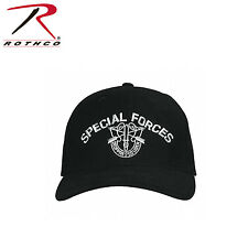 9296 Rothco Special Forces Hat - Black