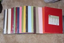 "Stampin Up! NEW 8 1/2"" x 11"" Cardstock Paper All Color Families Choose 1"