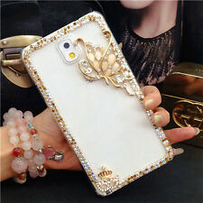 X21 Cute Luxury Bling Crystal Diamond Hard Case Cover for iPhone/ Samsung Galaxy