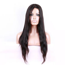Stock Full Lace Chinese Virgin Straight #613 Or Natural Color Human Hair Wigs