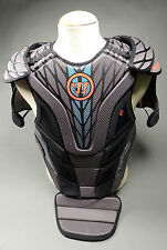 Warrior Burn Lacrosse Goalie Chest Protector Lax Pad Guard (New)