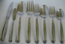 Oneida RATTAN Dinner Fork Spoon Knife Serving Spreader YOUR CHOICE Stainless