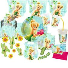 Tinkerbell Flowers Party Kid's Birthday Motto Decoration