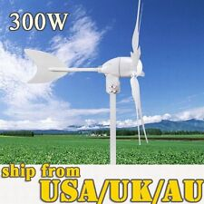 Wind Generator 24 V/12V 300W Wind turbine energy 6 Blades Power Supply