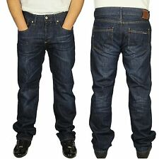MENS JEANS DUCK & COVER BOXSIR REGULAR FIT STRAIGHT LEG MID USED COLOUR JEANS