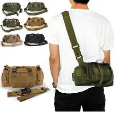 Outdoor Tactical Military Waist Pack Shoulder Bag Molle Pouch Bag Camping Hiking