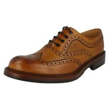 Mens Loake Formal Brogue Shoes Fitting G Style - Edward