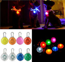 Favorite Pretty Pet Dog Cat Puppy LED Flashing Collar Safety Night Light Pendant